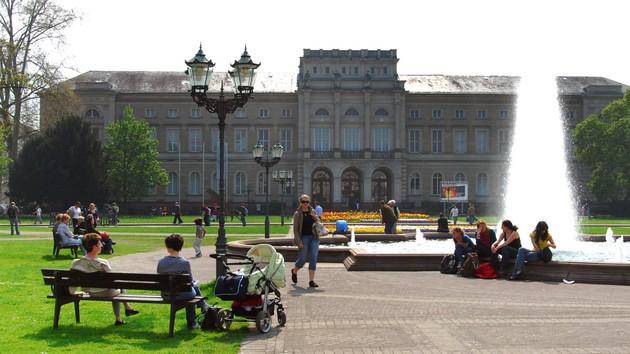 Foto Naturkundemuseum mit Friedrichsplatz, Foto: MMG