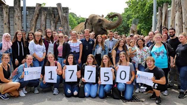 17.750 Euro Spende für die Artenschutzstiftung Zoo Karlsruhe