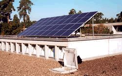Solarmodul/Europäische Schule