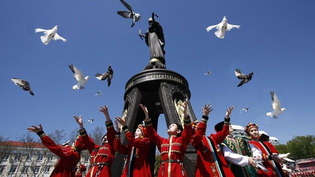 Krasnodar, Denkmal für St. Katharina