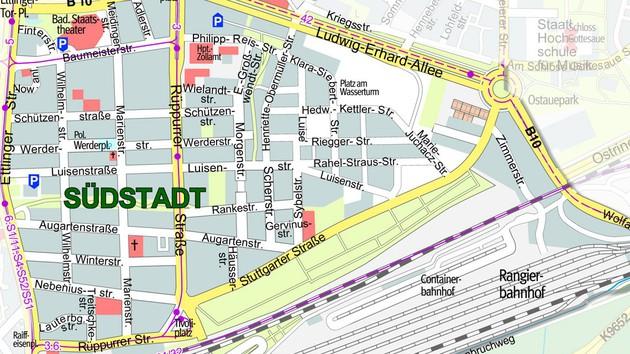 Stadtteilplan