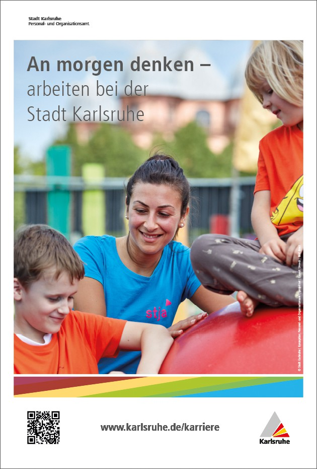 An morgen denken - arbeiten für die Stadt Karlsruhe