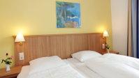 La cama del hotel