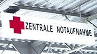 Wejœcie do Centralnej Izby Przyjęć (Zentrale Notaufnahme)