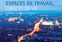 "brochure  ""Espaces de travail, espaces de vie"""