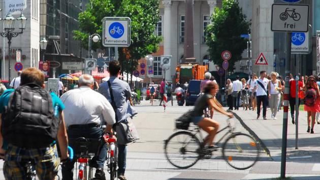 Radfahren in Karlsruhe